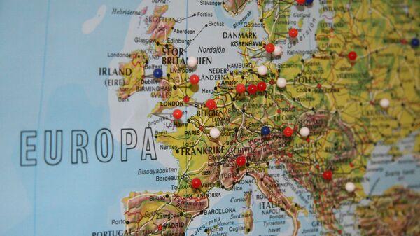 Карта Европы - Sputnik Латвия