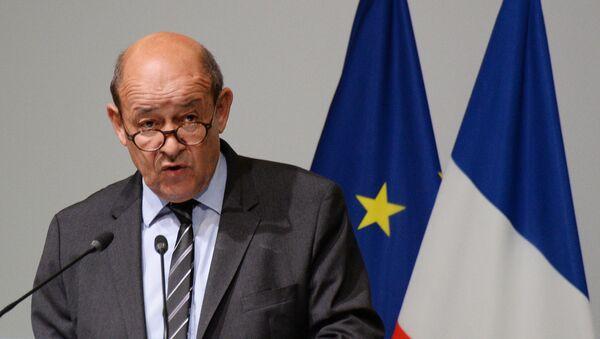 Министр обороны Франции Жан-Ив Ле Дриан - Sputnik Latvija