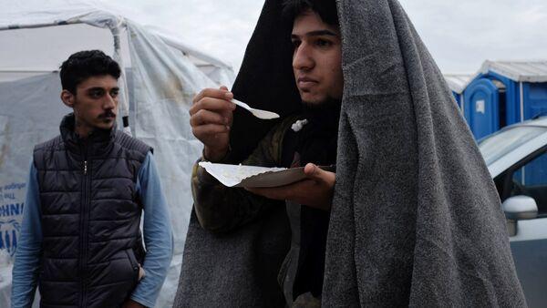 Беженцы с Ближнего Востока - Sputnik Latvija