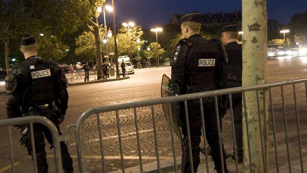 Полиция Франции - Sputnik Латвия