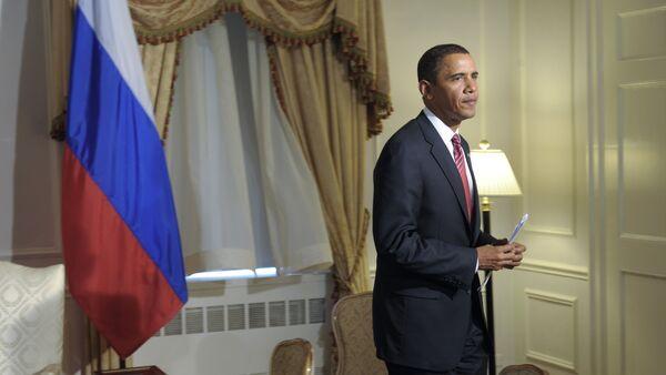 Президент США Барак Обама - Sputnik Латвия