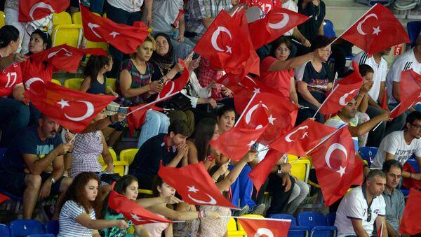 Турецкие болельщики - Sputnik Латвия