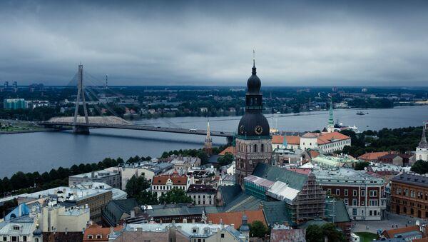 Город Рига, архивное фото - Sputnik Латвия