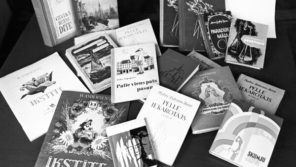 Книги, переведенные на латышский язык. Архивное фото - Sputnik Латвия