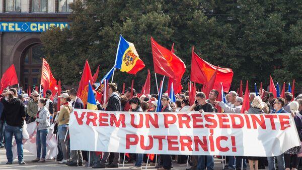 Protesta akcija Kišiņevā - Sputnik Latvija