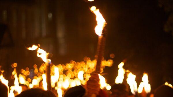 Факельное шествие - Sputnik Латвия