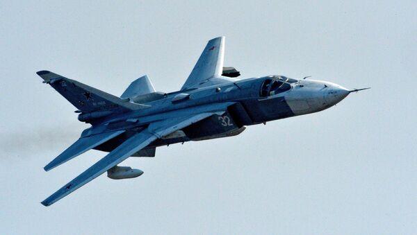 Самолет Су-24 - Sputnik Латвия