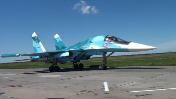Юг России: масштабные учения военной авиации - Sputnik Latvija