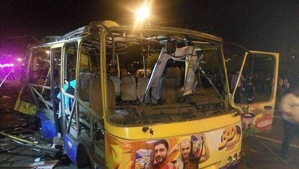 Взрыв автобуса в Ереване - Sputnik Латвия
