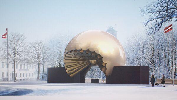 Проект памятника 100-летию Латвии - Sputnik Латвия