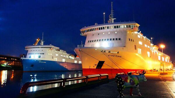 Паромы Scottish Viking и Stena Flavia в порту Вентспилса - Sputnik Latvija