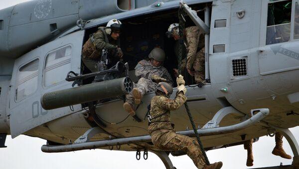Солдаты американской армии - Sputnik Латвия