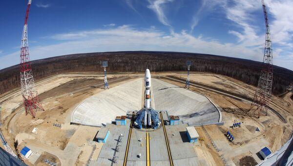 Ракета-носитель Союз-2.1а на стартовом комплексе космодрома Восточный - Sputnik Latvija