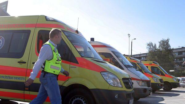 Машины скорой помощи в Риге - Sputnik Latvija