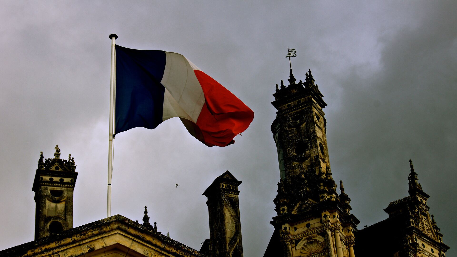Флаг Франции - Sputnik Латвия, 1920, 18.09.2021