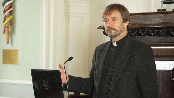 Архиепископ Латвийской евангелическо-лютеранской церкви Янис Ванагс - Sputnik Латвия