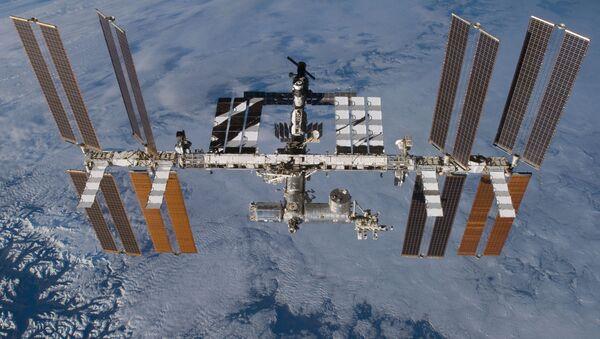 МКС на орбите - Sputnik Латвия