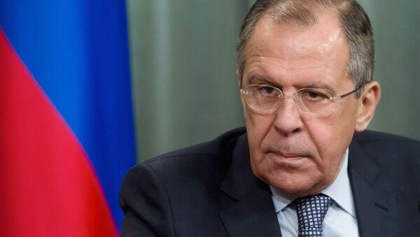 KF Ārlietu ministrijas vadītājs Sergejs Lavrovs - Sputnik Latvija