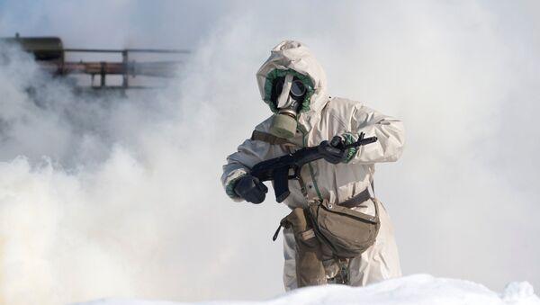 Войска радиационной, биологической и химической защиты - Sputnik Латвия