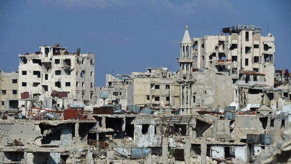 Сирийский город Хомс - Sputnik Латвия