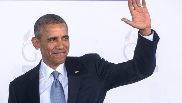 Президент США Барак Обама, архивное фото - Sputnik Латвия