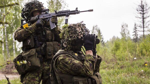 Международные военные учения Kevadtorm в Эстонии. - Sputnik Латвия