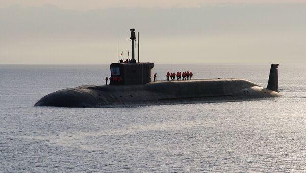 Атомная подводная лодка (АПЛ) Юрий Долгорукий - Sputnik Латвия