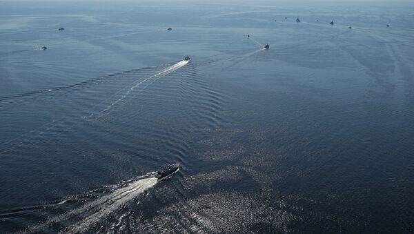 Корабли НАТО в Балтийском море во время учений - Sputnik Латвия