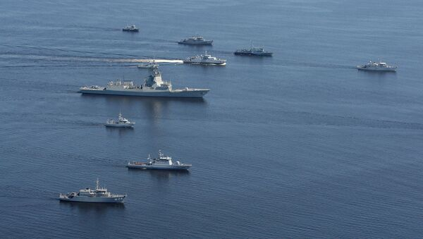 NATO kuģi Baltijas jūrā mācību laikā. Foto no arhīva - Sputnik Latvija
