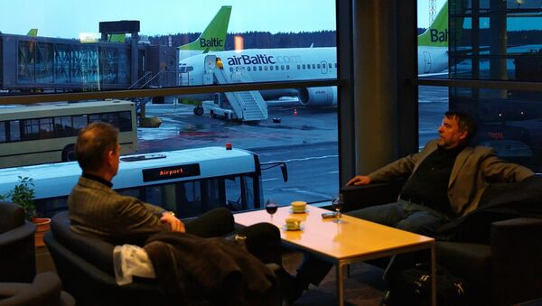 Работа международного аэропорта Рига - Sputnik Латвия