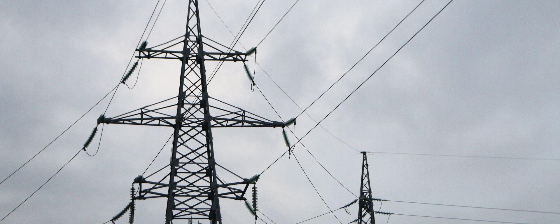 Высоковольтные линии электропередачи - Sputnik Латвия, 1920, 06.07.2021