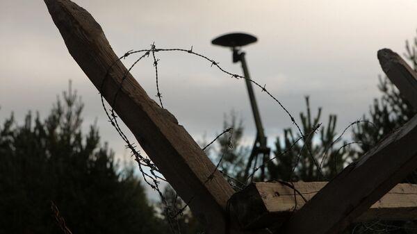 На полигоне Адажи - Sputnik Латвия