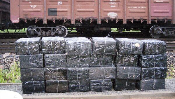 Нелегальный груз на границе в вагонах - Sputnik Латвия
