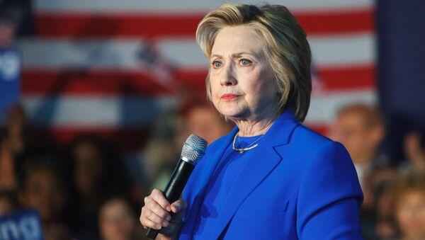 Demokrātiskās partijas pārstāve Hilarija Klintone. Foto no arhīva - Sputnik Latvija