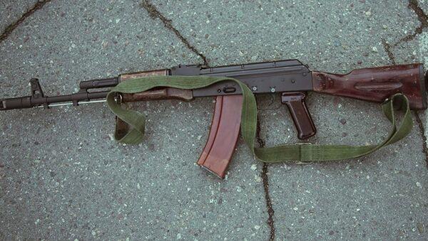 Автомат Калашникова АК-47 - Sputnik Latvija