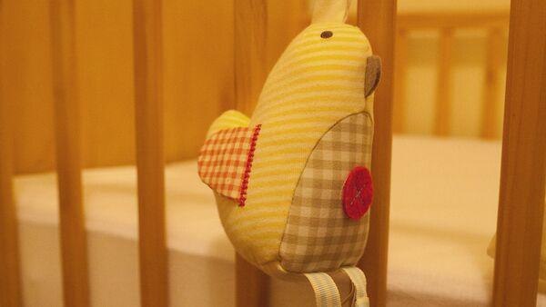 Игрушка на детской кроватке - Sputnik Латвия
