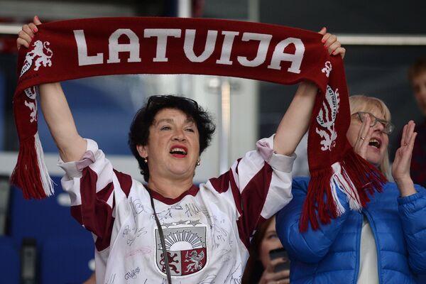 Болельщики на ЧМ по хоккею - Sputnik Латвия