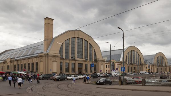 Центральный рижский рынок - Sputnik Latvija