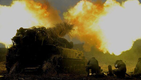 Межвидовые тактические учения 5-й общевойсковой армии ВВО - Sputnik Латвия