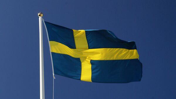 Флаг Швеции. - Sputnik Латвия
