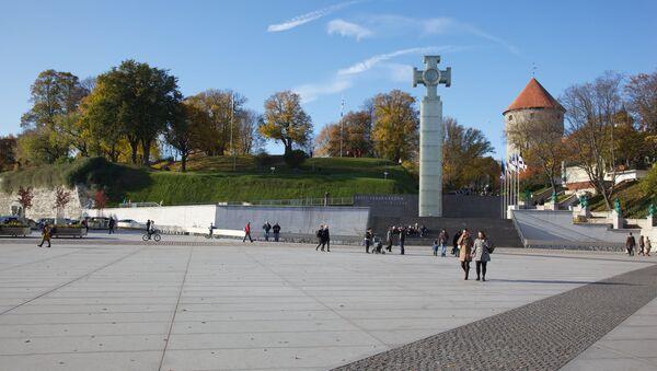 Площадь Свободы в Таллинне. - Sputnik Латвия