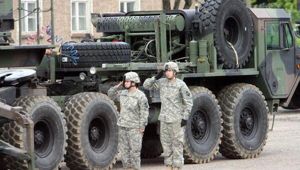 Американские ракеты Patriot размещены в Польше - Sputnik Latvija