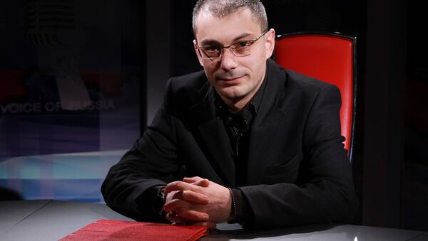 Писатель и публицист Армен Гаспарян. - Sputnik Латвия