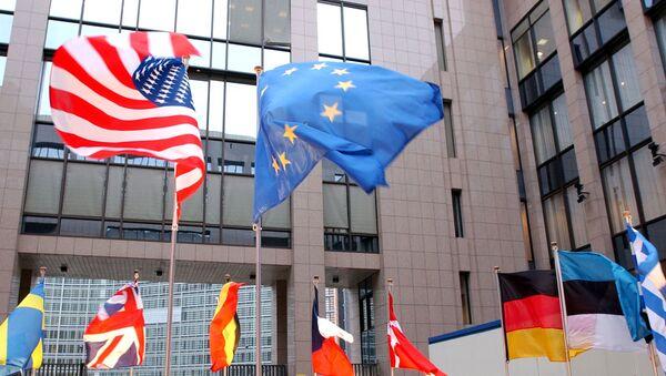 ES un ASV karogi - Sputnik Latvija