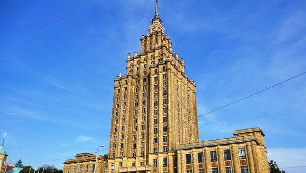 Здание Академии наук Латвии - Sputnik Латвия