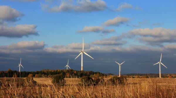Ветропарк в Эстонии - Sputnik Латвия