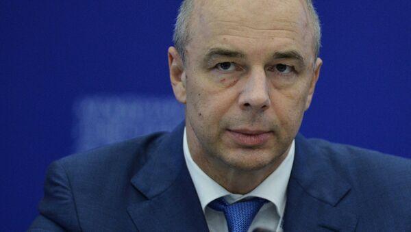 Krievijas finanšu ministrs Antons Siluanovs - Sputnik Latvija