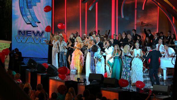 Международный конкурс Новая волна 2012 в Юрмале - Sputnik Латвия