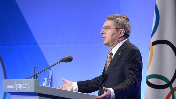 Президент Международного олимпийского комитета Томас Бах - Sputnik Латвия