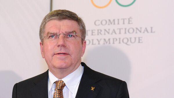 Президент Международного олимпийского комитета Томас Бах - Sputnik Latvija